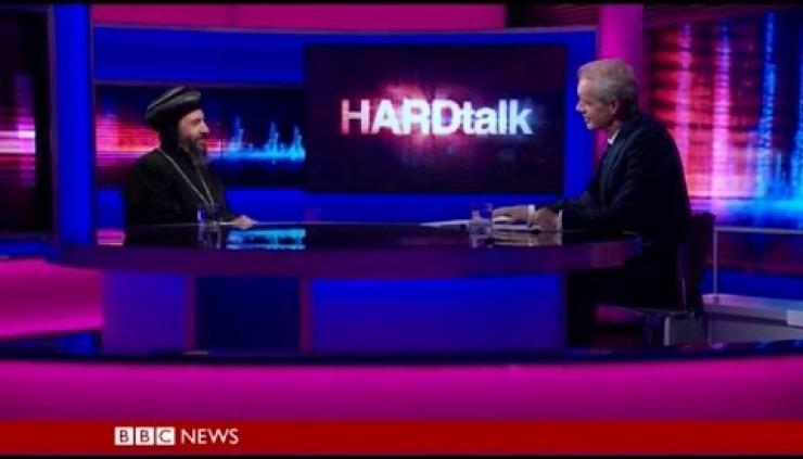 Bishop Angaelos interviewed on BBC TV HARDtalk