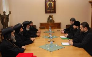 At Russian Orthodox Church external relations meeting in Moscow/