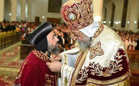 His Holiness Pope Tawdros II and His Grace Bishop Angaelos